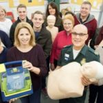 Featured image for Cardiac arrest survivor learns lifesaving skills