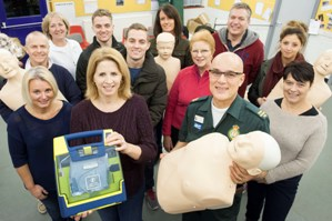 Michelle Edmonds learnt lifesaving skills with friends and family