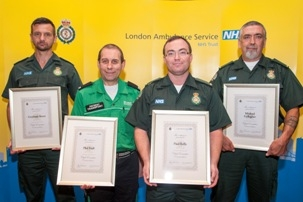 Commended staff