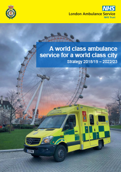 Our plans for the future – London Ambulance Service NHS Trust