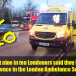 Featured image for Poll of Londoners shows confidence in our service but some misunderstandings of what ambulances should be used for