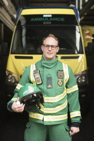 HART paramedic Ben
