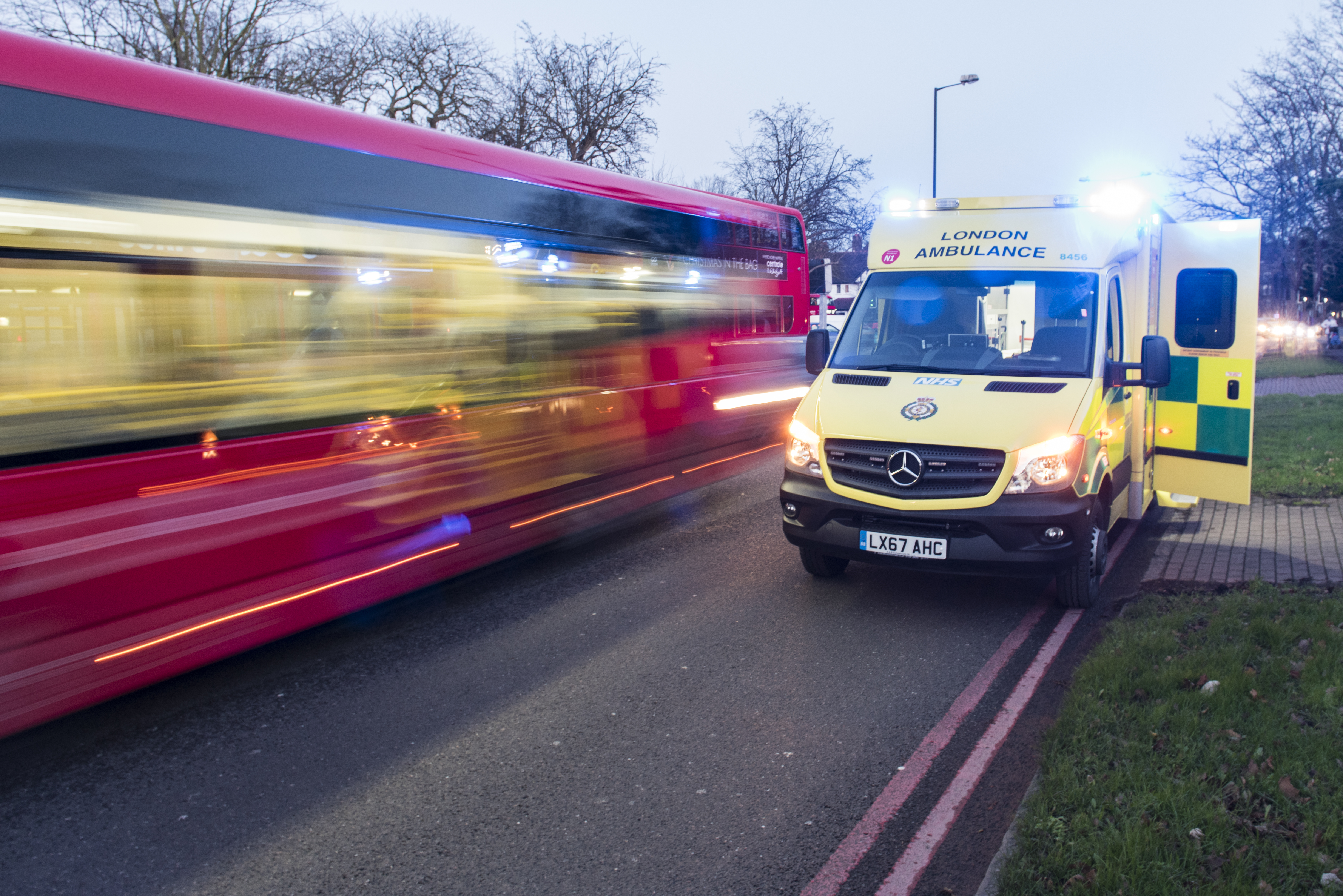 December was busiest month on record for London Ambulance