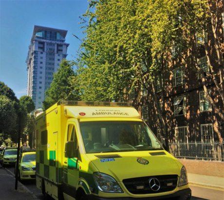 Sunny ambulance