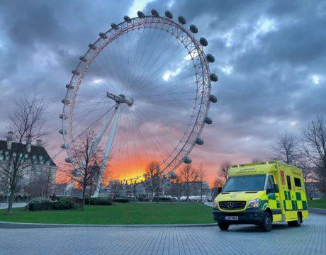 Ambulance London Eye