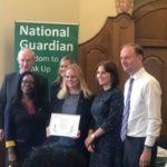 Winning the Freedom To Speak Up Index 2019 award