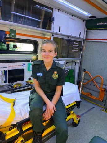Perfect Day Caitlin Homerton Paramedic