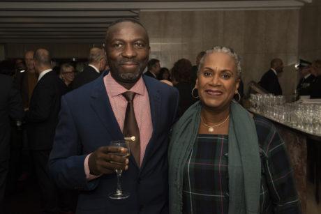 Samuel Nsubuga and Sarah Young