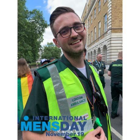Kieran Mulligan International Mens Day