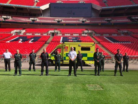 Emergency Responders at Wembley Stadium