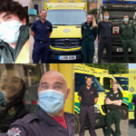 compilation image of firefighters paired with LAS medics