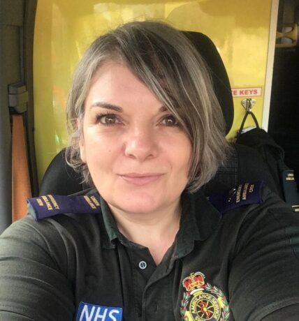 Bernadette Brennann, an Emergency Ambulance who recently enrolled on the programme