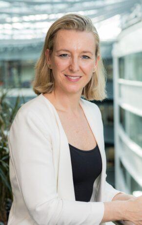 Portrait shot of Line De Decker