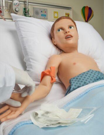 Pediatric patient simulator