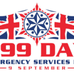 The official 999 Day logo